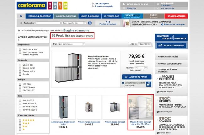 Castorama.fr - page-liste