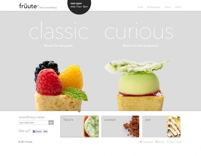Design web - fruute.com