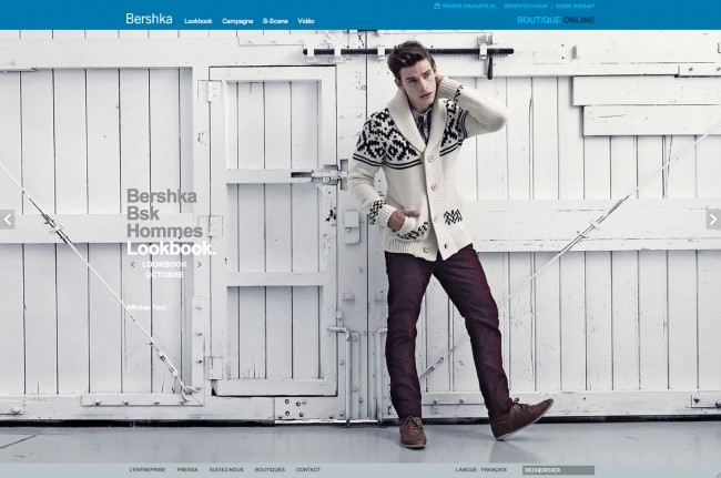 Bershka - lookbook homme
