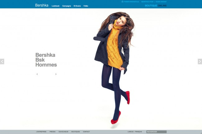 Bershka - lookbook BSK