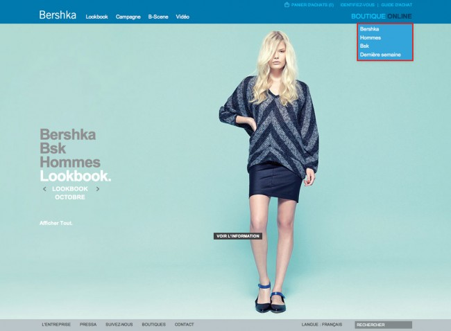 Bershka - Page Lookbook