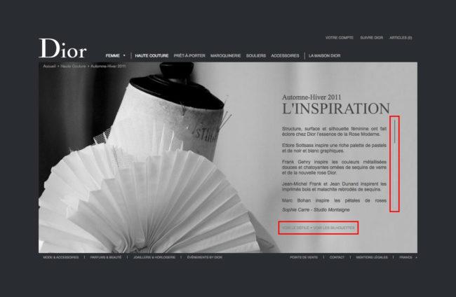 Dior.com - Inspiration