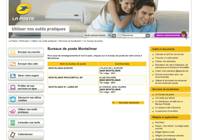 "Little big mistake - La poste : recherche ""Montelimar"""
