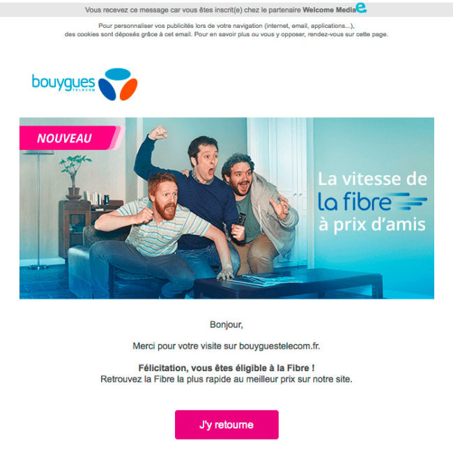 Bouygues Telecom - e-mail de prospection